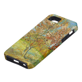 Van Gogh Pink Peach Tree in Blossom, Fine Art Tough iPhone 5 Case