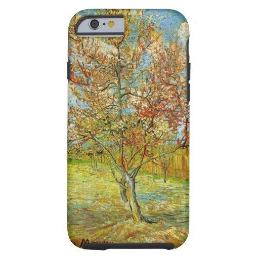 Van Gogh Pink Peach Tree in Blossom, Vintage Art iPhone 6 Case