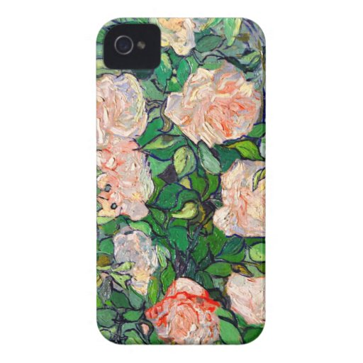 Van Gogh Pink Roses Blackberry Bold Blackberry Bold Covers