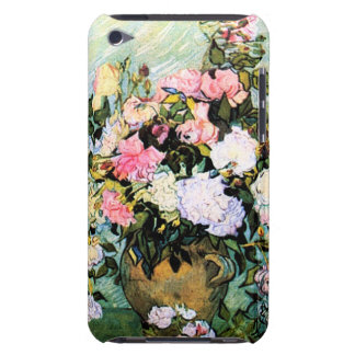 Van Gogh Pink Roses iPod Case Barely There iPod Covers