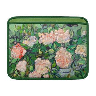Van Gogh Pink Roses Sleeve For MacBook Air