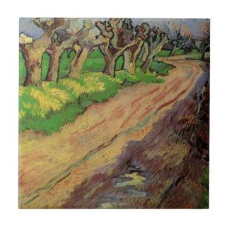 Van Gogh Pollard Willows, Vintage Impressionism Ceramic Tiles