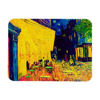 Van Gogh Pop Art Cafe Terrace At Night Vinyl Magnet