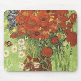 Van Gogh Poppies Mouse Pads