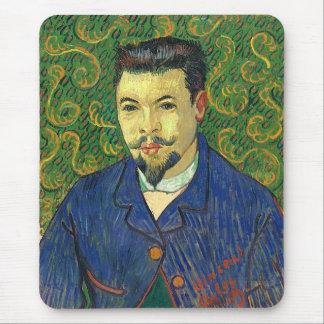 Van Gogh   Portrait of Dr. Félix Rey   1889 Mouse Pad