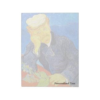 Van Gogh | Portrait of Dr. Gachet Notepads