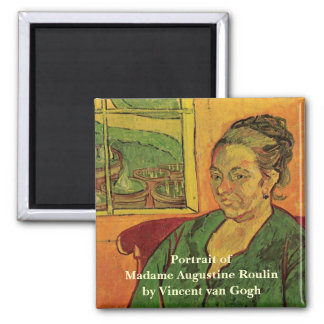 Van Gogh; Portrait of Madame Augustine Roulin Fridge Magnet