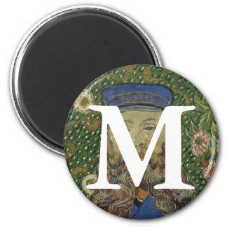 Van Gogh | Portrait of Postman Joseph Roulin  II 2 Inch Round Magnet