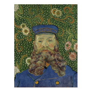 Van Gogh | Portrait of Postman Joseph Roulin  II Postcard