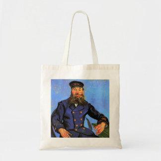Van Gogh, Portrait of the Postman Joseph Roulin Tote Bag