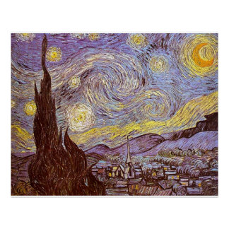 Van Gogh Posters Starry Night