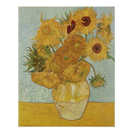 Van Gogh Prints: Van Gogh Sunflowers Print