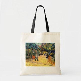 Van Gogh - Public Park in Arles Budget Tote Bag