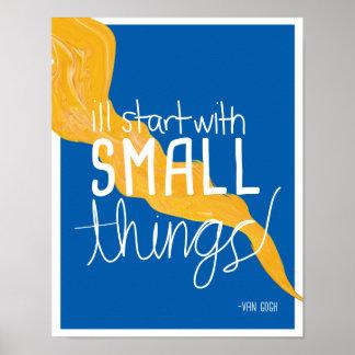 Van Gogh Quote 1 Poster