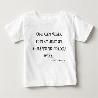 Van Gogh Quote Baby T-Shirt