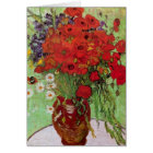Van Gogh Red Poppies and Daisies, Fine Art Flowers