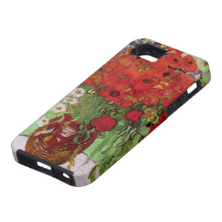 Van Gogh Red Poppies and Daisies, Fine Art Flowers iPhone 5 Cases