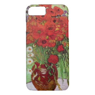 Van Gogh Red Poppies and Daisies, Fine Art Flowers iPhone 7 Case