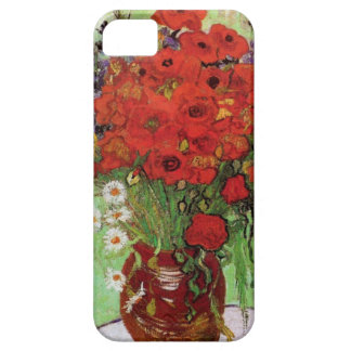 Van Gogh Red Poppies and Daisies iPhone Case