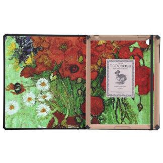 Van Gogh Red Poppies & Daisies (F280) Fine Art iPad Cases
