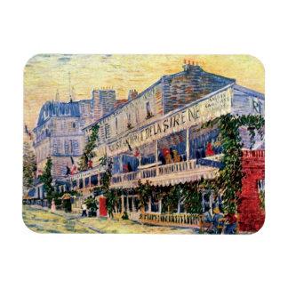 Van Gogh - Restaurant De La Sirene At Asnieres Rectangular Photo Magnet