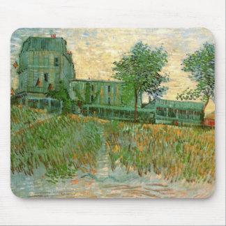 Van Gogh Restaurant la Sirene, Asnieres, Fine Art Mouse Pad