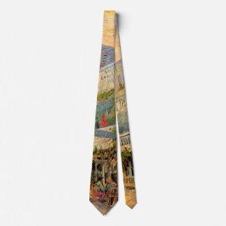 Van Gogh Restaurant la Sirene, Asnieres, Fine Art Tie