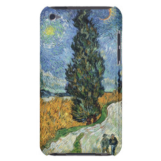 Van Gogh Road With Cypresses iPod Case iPod Touch Cover