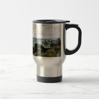 Van Gogh - Roofs of Paris Travel Mug