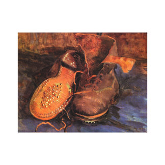 Van Gogh s A Pair of Shoes Canvas Print