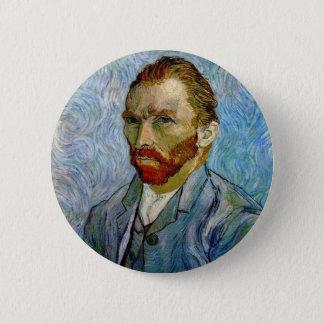 Van Gogh Self Portrait 6 Cm Round Badge
