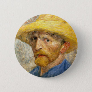 Van Gogh - Self-Portrait 6 Cm Round Badge