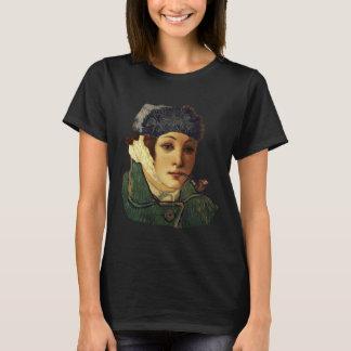 Van Gogh Self Portrait And Face Of Venus Botticell T-Shirt