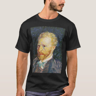 van gogh self portrait autumn 1887  samenvatting v T-Shirt