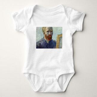 Van Gogh Self Portrait. Baby Bodysuit