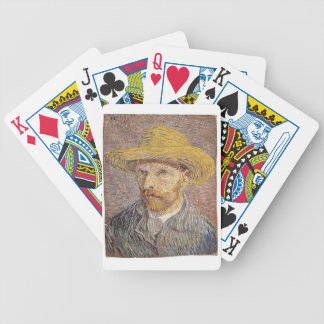 Van Gogh self portrait Bicycle Playing Cards