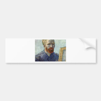 Van Gogh Self Portrait. Bumper Sticker