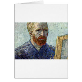 Van Gogh Self Portrait. Card