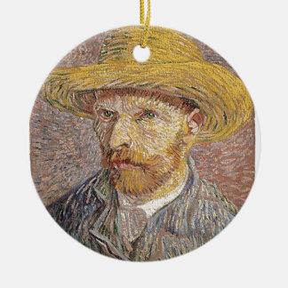 Van Gogh self portrait Ceramic Ornament