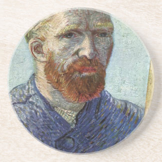 Van Gogh Self Portrait. Coaster