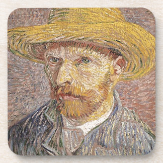 Van Gogh self portrait Coaster