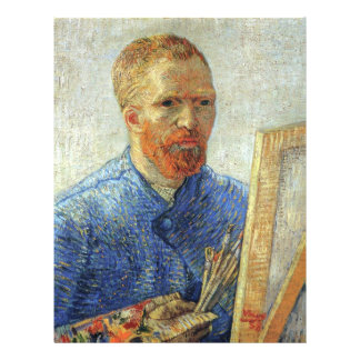 Van Gogh Self Portrait Full Color Flyer