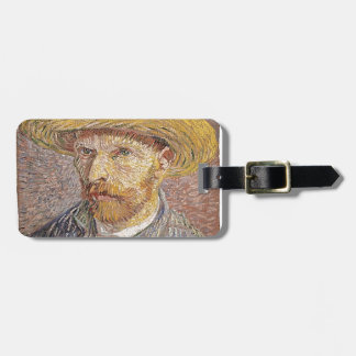 Van Gogh self portrait Luggage Tag