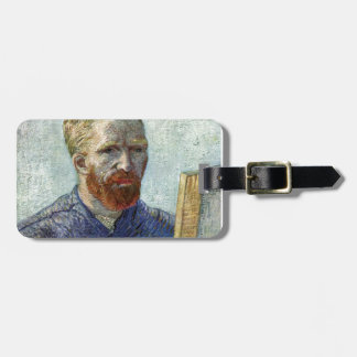 Van Gogh Self Portrait. Luggage Tag
