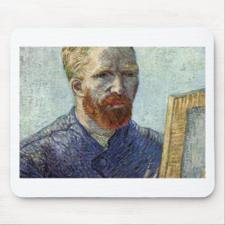 Van Gogh Self Portrait. Mouse Pad