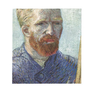 Van Gogh Self Portrait. Notepad