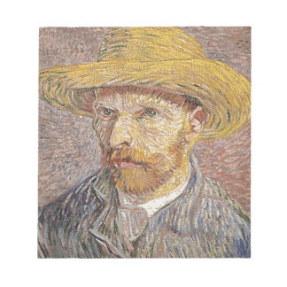 Van Gogh self portrait Notepad