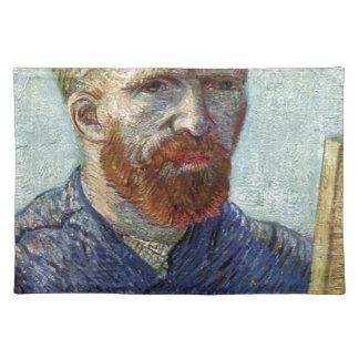 Van Gogh Self Portrait. Placemat
