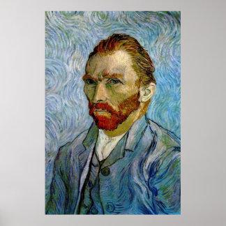 Van Gogh Self Portrait Poster