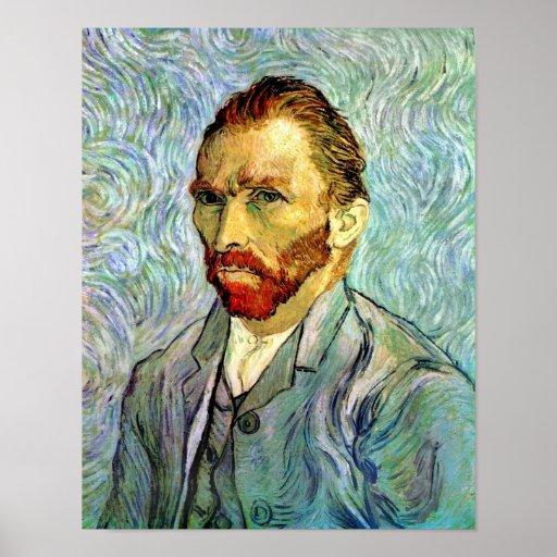 Van Gogh Self-Portrait Poster